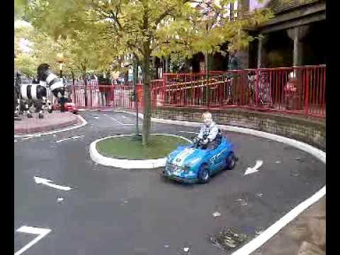 Alton Towers kids ride