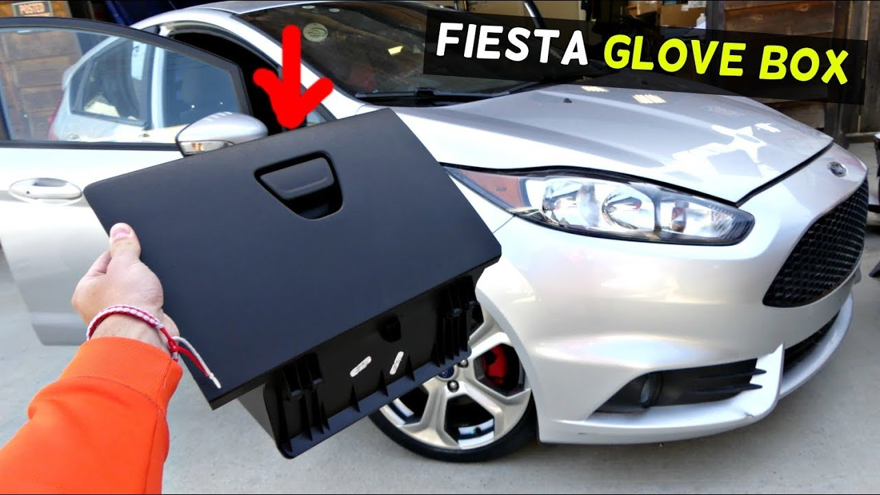 Ford Fiesta Glove Box Removal Replacement Mk7 St