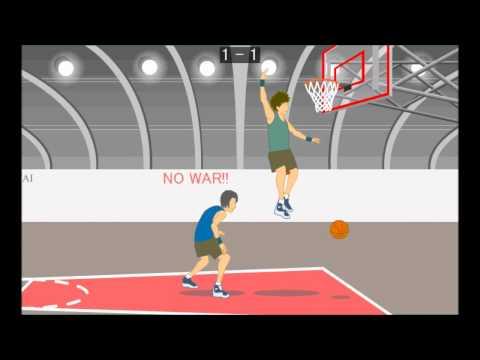 Air Raid Basketball (GamePlay)