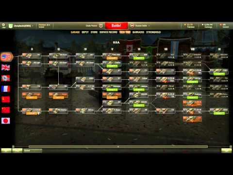 World of Tanks - Convert Combat Experience to Free Experience