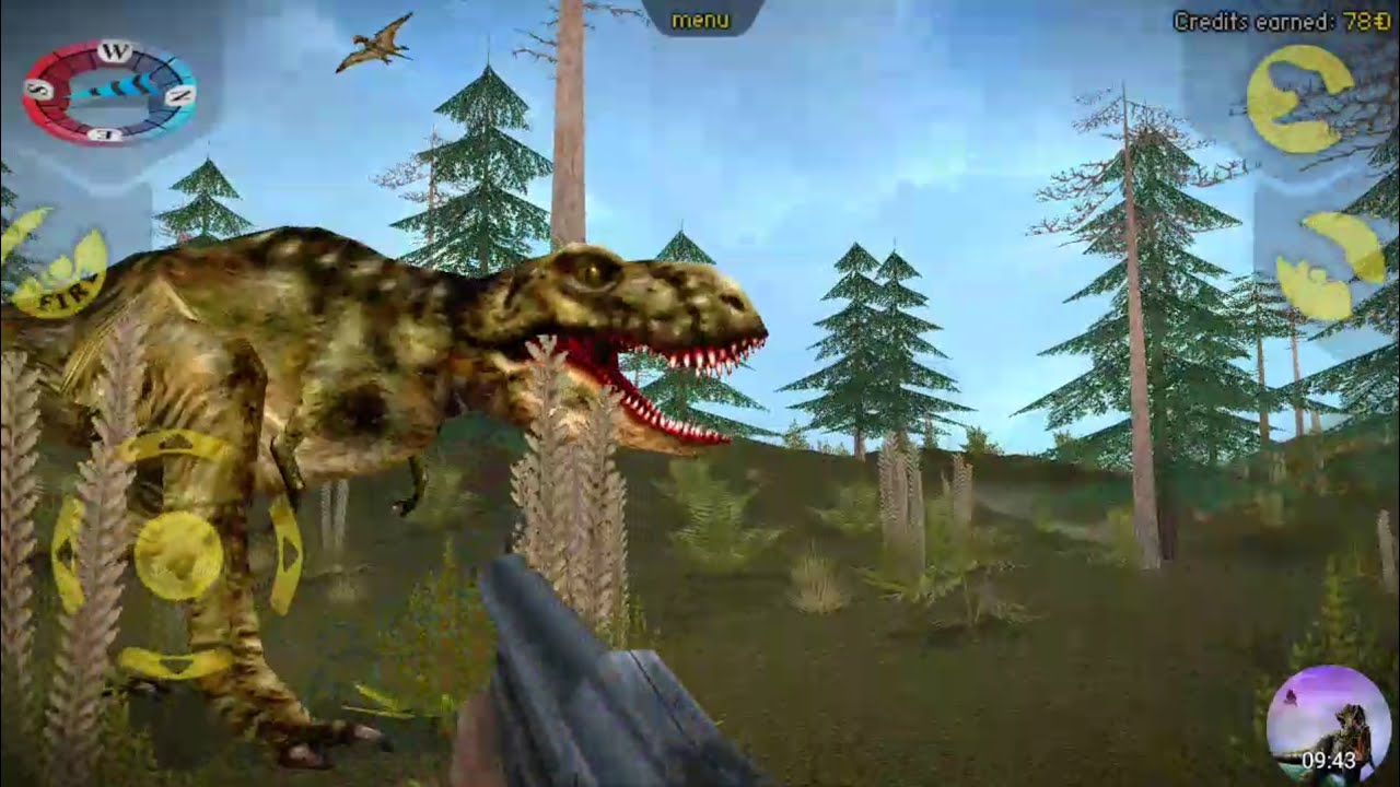 carnivores dinosaur hunter hunting trex with no radar