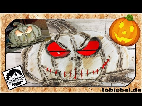 diy-halloween-deko-kürbis-laterne-tutorial-halloween-holz-dekoration-kürbis-selber-machen⎮tobiebel