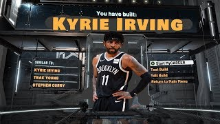 Kyrie Irving Build on NBA 2K20 is a DEMIGOD! 52 Badge Upgrades! Best Guard Build on NBA 2K20!