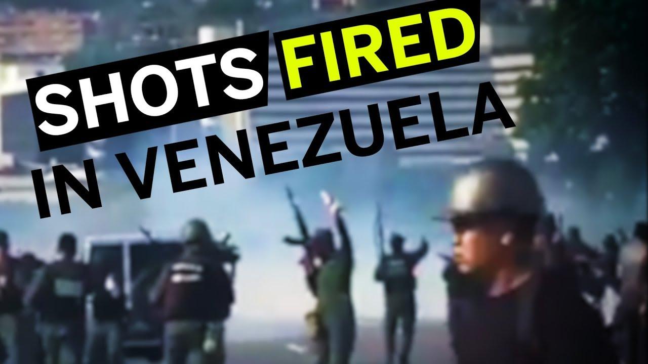 Military Uprising In Venezuela