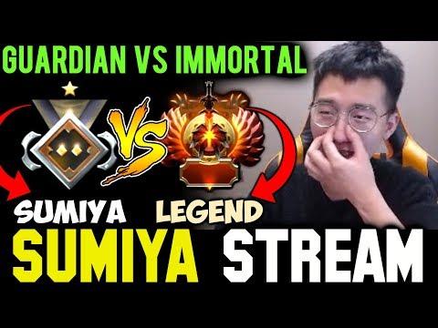 SUMIYA Guardian Rank vs Immortal Legend | Sumiya Invoker Stream Moment #467
