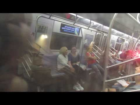 NYC Subway: R160B Q Train ride from 86 St-2 Av to 57 St-7 Av