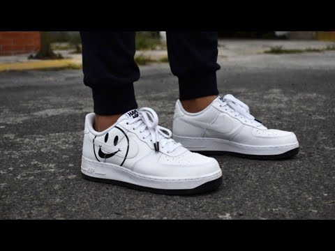 Identidad tortura manzana  Nike air force 1 have a nike day unboxing & on feet - YouTube