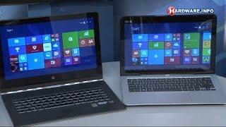 Intel Core M laptops van Lenovo en ASUS review - Hardware.Info TV (Dutch)