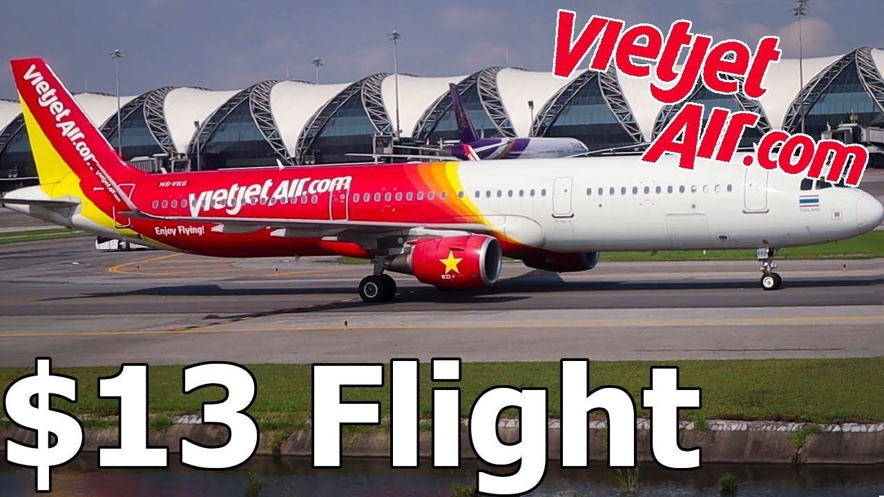 VIETJET AIR Flight Review! (Chiang Mai to Bangkok, Thailand)