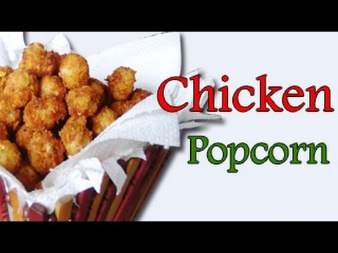 how to cook popcorn chicken