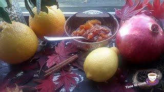 Как быстро сделать джем из апельсинов в домашних условиях