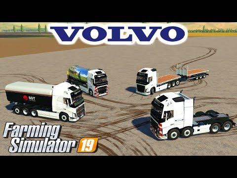 Volvo Pack Farming Simulator 19 Mod Video Review
