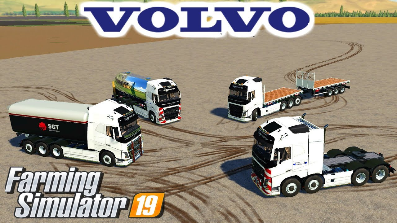 Farming simulator 19 mods Volvo FH16 truck pack