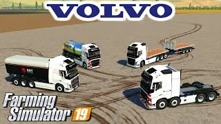 Volvo Pack Farming Simulator 19 Mod Video Review