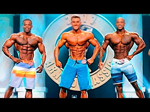 Arnold Classic 2017 -  Men´s Physique Results