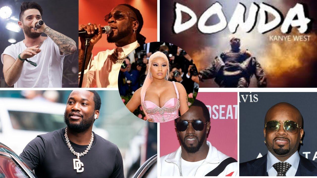 Download The Bigger5: Hizi ni stori tano toka kwa Diddy, Burna Boy, Nicki Minaj, Meekmill na Kanye West