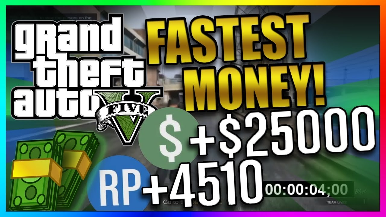 GTA 5 Online: Top 3 Best Paying Missions - Fastest Solo Way to Make Money -  Money/RP Guide 1 41/1 29