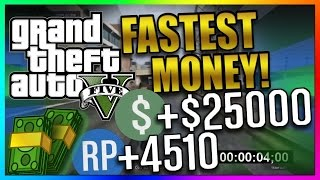 GTA 5 Online: Top 3 Best Paying Missions - Fastest Solo Way to Make Money - Money/RP Guide 1.41/1.29
