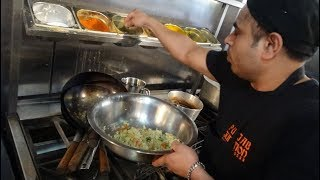 "Punjabi Samosa Recipe + Freshly made Aloo Paratha at ""Punjab Junction"" Restaurant in Harrow, London"