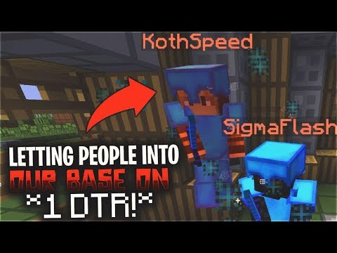 Letting people into our base on 1 DTR... *RISKY* | ViperHCF