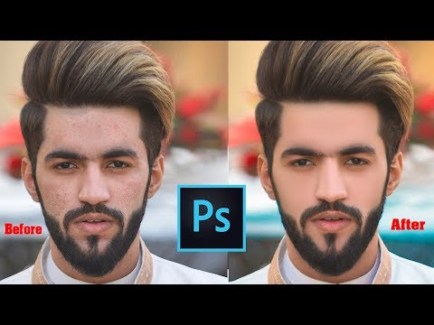 Mixer Brush Tool Setting For High-End Skin Retouching In Photoshop In Urdu Hindi