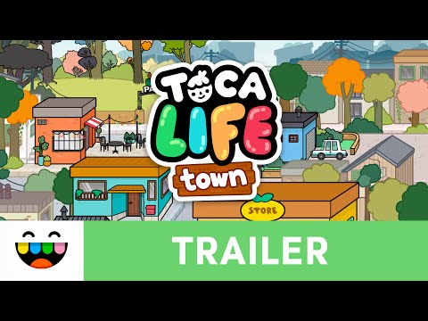 A Play World Full of Everyday Adventures | Toca Life: Town | Gameplay Trailer | @TocaBoca