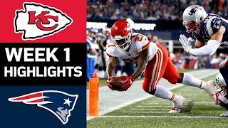 Chiefs vs. Patriots | NFL Week 1 Game Highlights