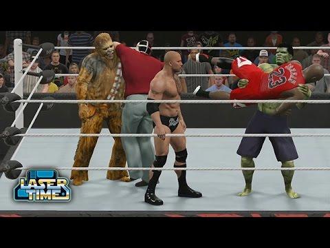 WWE vs Marvel vs DC vs Star Wars vs Jordan vs Laser Time