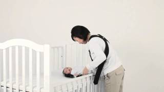 ベビービョルン ベビーキャリア着け方  新生児の上手な抱っこ