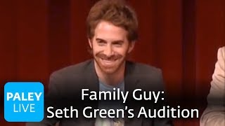 Family Guy - Seth Green's Audition