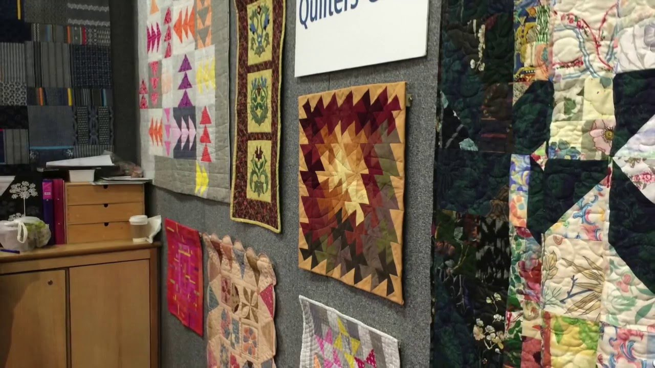Snapshots from Knitting and Stitching Show 2016 - YouTube