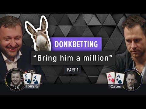 Poker Strategy - Donk Betting (Part 1)