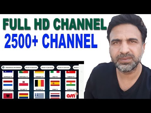 Watch Live TV On Android Mobile Phone 2500 PLUS Full HD Channel 10 Country USA UKPAK INDIA
