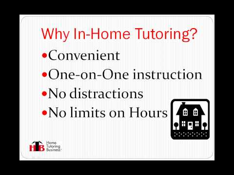 Home Tutoring Business - A Great Alternative To Buying A Franchise