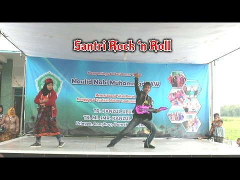 Drama Komedi Musical Santri Rock'n Roll SMP Kanzul Ulum 2016