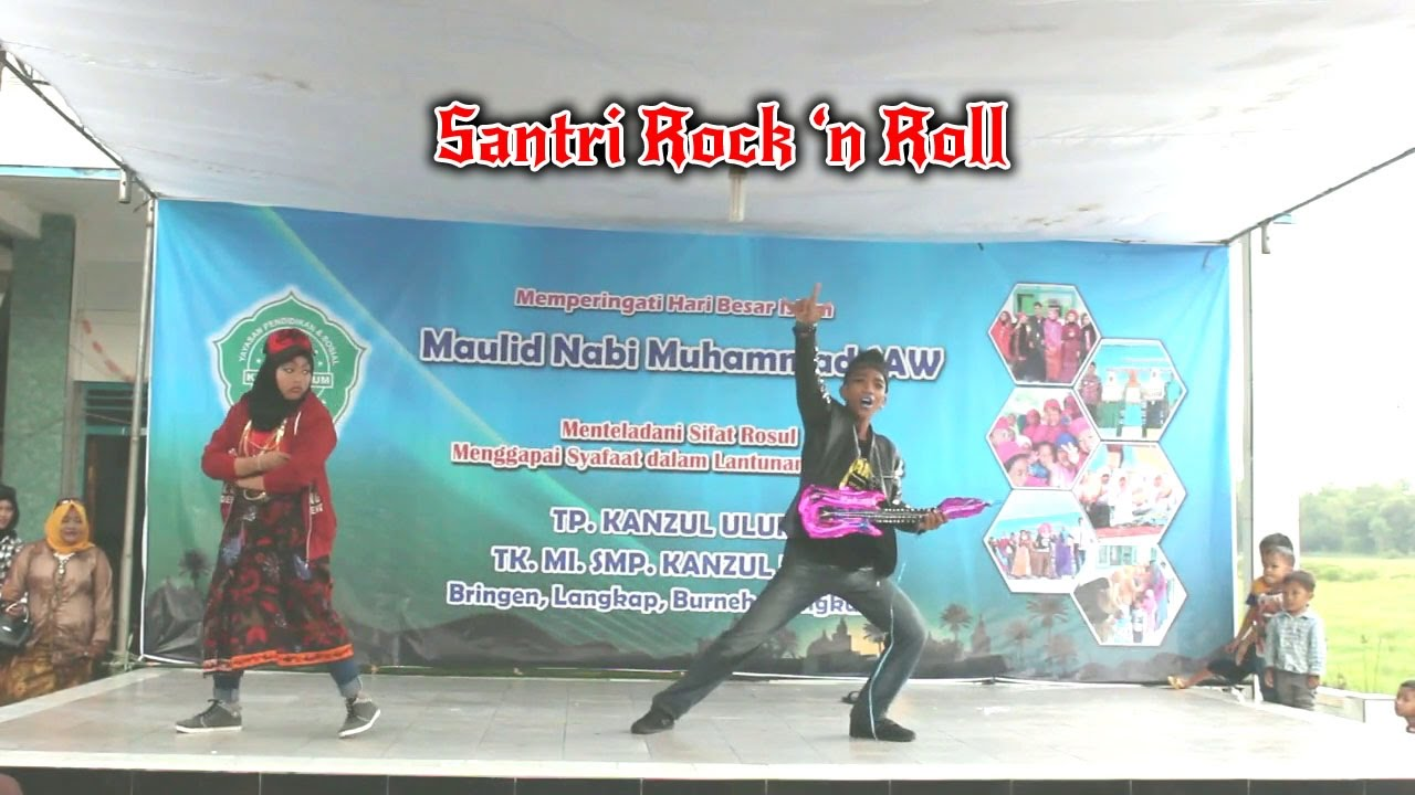 Drama Komedi Musical Santri Rock N Roll Smp Kanzul Ulum 2016 Youtube