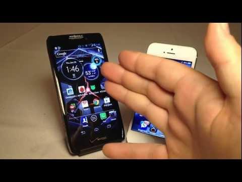 Motorola Droid Razr Maxx HD vs. iPhone 5 Review