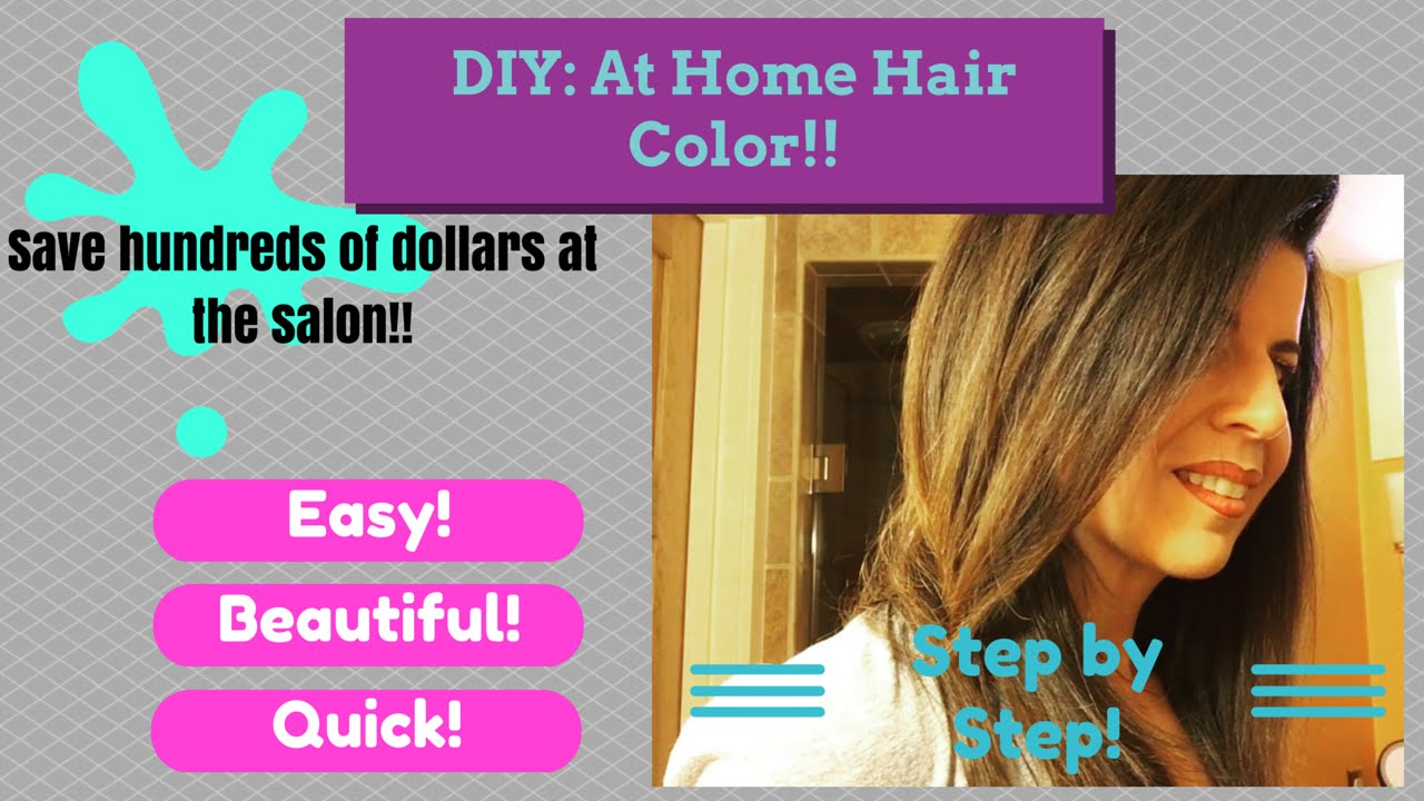 How to color your hair at home diy hair color at home loreal how to color your hair at home diy hair color at home loreal youtube solutioingenieria Images