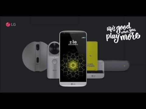 LG G5 Default Alarm Life's Good