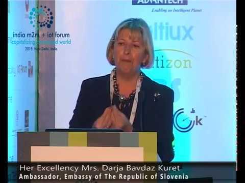 Ambassador, Embassy of the Republic of Slovenia - H. E. Mrs.Darja Bavdaz Kuret