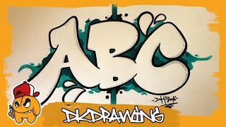 Graffiti Alphabet Tutorial - How to draw Graffiti Bubble Letters A to C(Etsy Store: https://www.etsy.com/de/shop/DKDrawing This is the new graffiti alphabet. At this video i show you how to draw the letters a to c of this graffiti bubble ..., 2016-07-13T17:23:27.000Z)