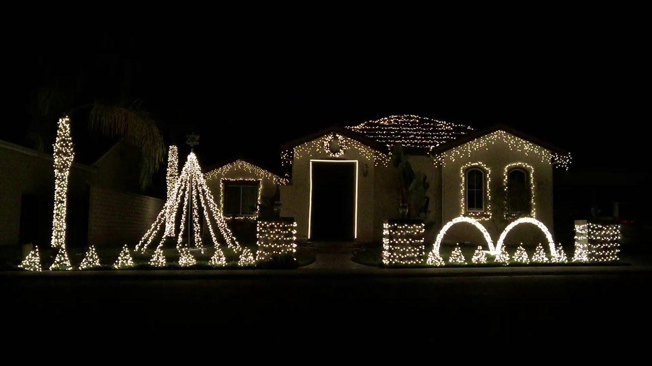 2015 - Peace Family Christmas Light Show - YouTube