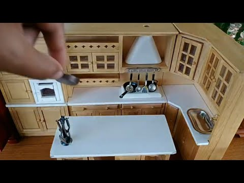 Miniature Kitchen Set Installation Video Mini Kitchen Cooking Set Diy Asmr Installation Video Youtube