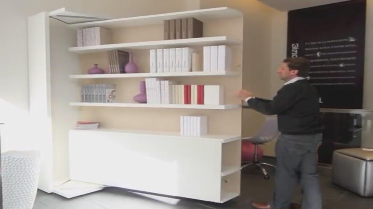 Armoire Lit Escamotable Lgm Table Bimodal Par La Maison Du Convertible