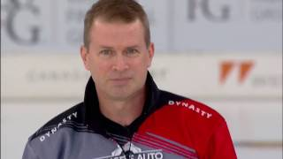 Stoughton ends sixth with his classic spin-o-rama