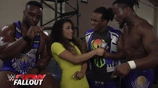 The New Day clap tutorial: Raw Fallout, July 6, 2015