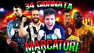 MARCATORI 34^ GIORNATA SERIE A + CONSIGLI AL FANTACALCIO