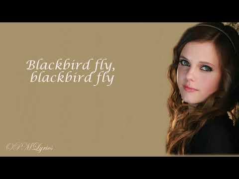 THE BEATLES - BLACKBIRD {Lyrics} - TIFFANY ALVORD (Cover)