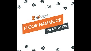 4Knines Crew Cab Dog Floor Hammock  Installation Video