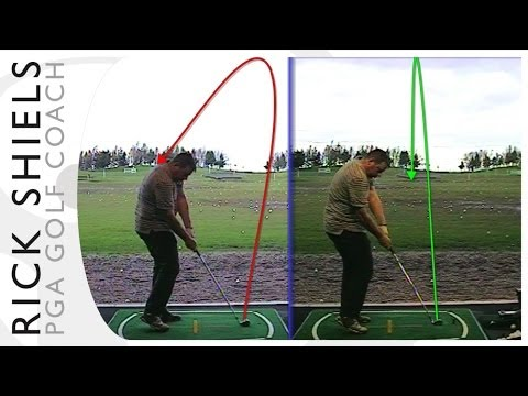 STOPPING HOOKED IRON GOLF SHOTS